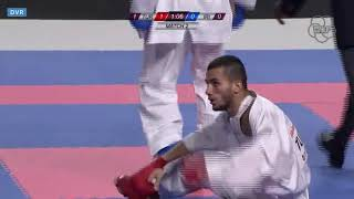 Team Kumite Iran vs Turkey: Final World Karate Championships 2018, Madrid
