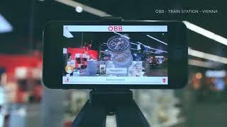 AR Indoor Navigation For OEBB At Central Station Vienna