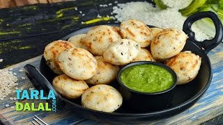 राईस अप्पे (Rice Appe, South Indian Snack)  by Tarla Dalal