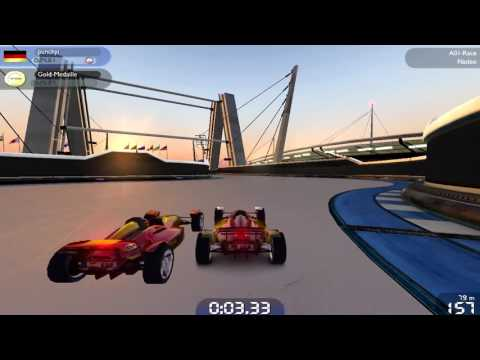 TrackMania Nations Forever 1# (on Nvidia Geforce GTX 560M )