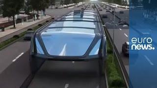 No more traffic jams! New China