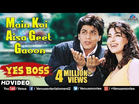 Xxx Mp4 Main Koi Aisa Geet Gaoon HD VIDEO Shah Rukh Khan Amp Juhi Chawla Yes Boss 90 39 S Romantic Songs 3gp Sex