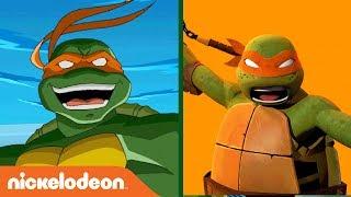 Theme Song Mashup Battle 🎶 | Teenage Mutant Ninja Turtles | #TurtlesTuesday