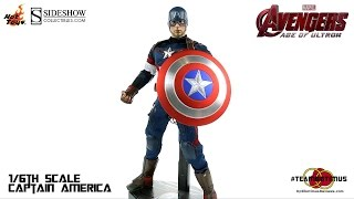 Video Review of the Hot Toys: 1/6 Captain America from The Avengers Age of Ultron