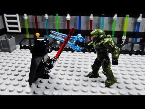 Lego Halo vs Star Wars 12