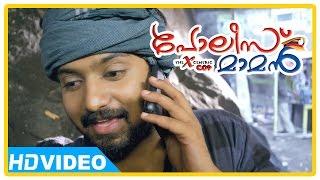 Poilce Maman Malayalam Movie | Scenes | Vishnu and friends try to help Baburaj | Nidhin Paul