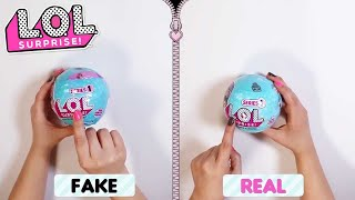 Fake Vs. Real | L.O.L. Surprise! | How To Spot A Fake