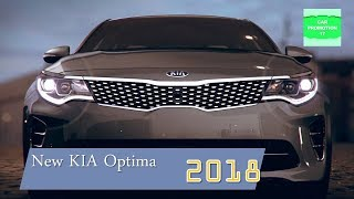 First Look 2018 KIA Optima New Interior and Exterior