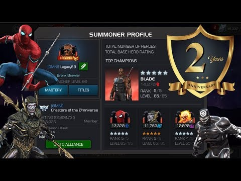Xxx Mp4 2 Year Account Anniversary Overview Lagacy69 Marvel Contest Of Champions 3gp Sex