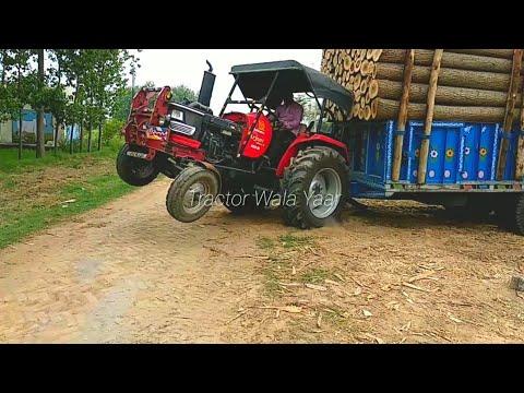 Xxx Mp4 Mahindra Arjun 555DI Tractor Pulling Heavy Weight 350 Quintal Tralla 3gp Sex