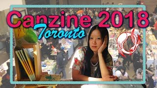 CANZINE TORONTO 2018 Vlog and Lessons | olivia and pindot