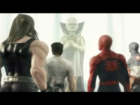 ps2 Pt.1b Marvel Ultimate Alliance cinematics.