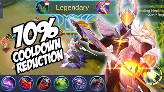 NEW BUILD ARGUS COOLDOWN REDUCTION ( IMBA !) - MOBILE LEGENDS INDONESIA #13