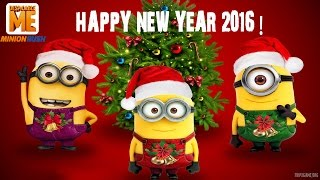 Despicable Me: Minion Rush Unlock Dave's Firefighter Happy New Year 2016