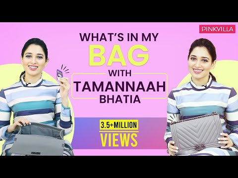 Xxx Mp4 What 39 S In My Bag With Tamannaah Bhatia Fashion Bollywood Pinkvilla 3gp Sex