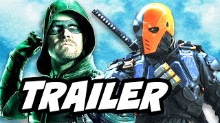 Arrow Season 5 Finale Deathstroke Trailer Breakdown