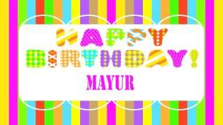 Mayur   Wishes & Mensajes - Happy Birthday
