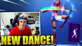 NINJA REACTS *NEW* STAR POWER DANCE/EMOTE - Fortnite Best & Funny Moments (Fortnite Battle Royale)