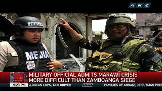 Marawi crisis more difficult than Zamboanga siege, military says