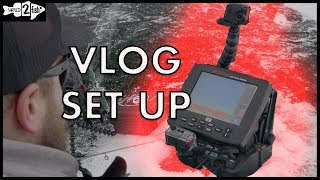 The Ultimate Ice Fishing VLOG Set Up