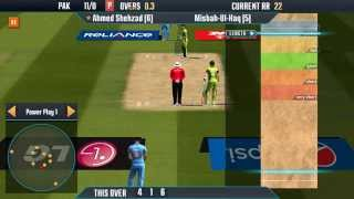 Icc Pro cricket 2015(India vs Pakistan worldcup 2015) Bowling Gameplay