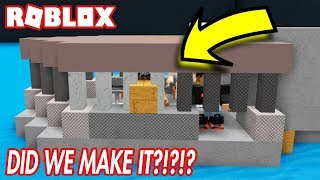 BUILD A BOAT FOR TREASURE IN ROBLOX! *DID WE MAKE IT?!*