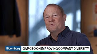 Gap CEO Art Peck on Improving Company Diversity