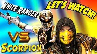 Scorpion VS White Ranger   Scorpion & Sub-Zero REACT! (MKX Parody)