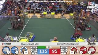 Quarterfinal 1 - 2017 Central Valley Regional