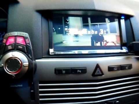 Alpine Vehicle Hub on Opel Astra GTC