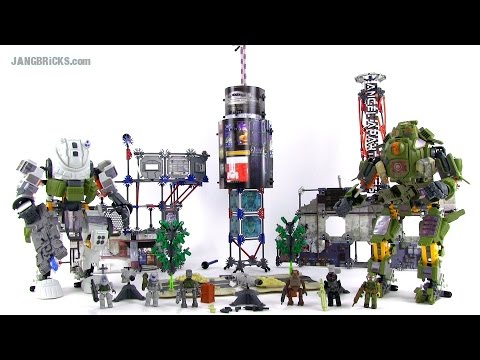 K'Nex Titanfall Ultimate Angel City Campaign set Review!  69500