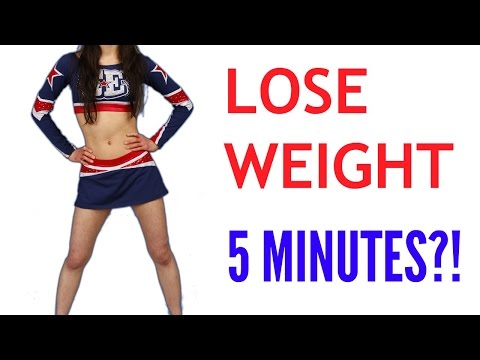How to lose weight in 5 MINUTES?!