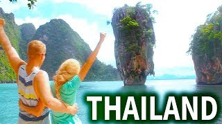 Thailand Travel Guide: Vacation Trip Things to do in Tour Vlog Places Visit See Best Tip Video Top 5