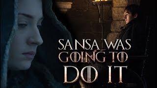 We Needed This Sansa Stark Deleted Scene - Game Of Thrones Season 7