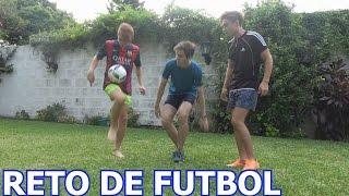 GONZALO GOETTE VS. FRAN MG VS. TOMAS ORANGES / RETO DE FUTBOL
