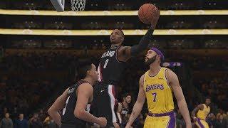 Los Angeles Lakers vs Portland Trailblazers NBA Live Full Game Highlights   Lakers vs Blazers