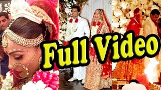 UNCUT: Full HD Video - Wedding Recception Coverage Bipasha Basu & Karan Singh Grover