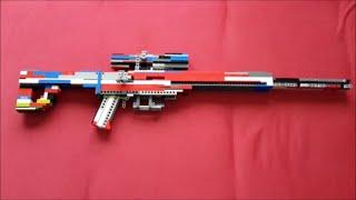 Lego Sniper rifle v7 instruction