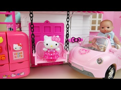 Xxx Mp4 Baby Doll And Hello Kitty House And Kitchen Toys Play 3gp Sex