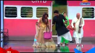 Sharukh Khan's Dance On Set Of Chala Hawa Yeu Dya 7th April 2016