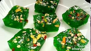 Karachi Bombay Halwa -Cornflour Chewy Halwa Recipe By (Cook With Meryem)