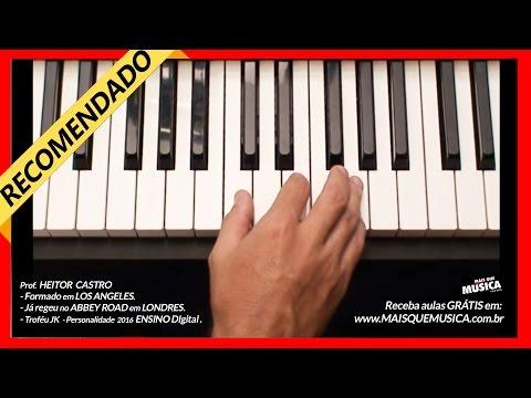 Piano popular aula 1 iniciante teclado Mais que Musica nivel zero