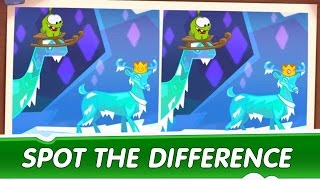Spot the Difference Ep. 5 - Om Nom Stories: Ice Cave