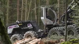 Logset 12H GTE Hybrid - Biggest Harvester!!!