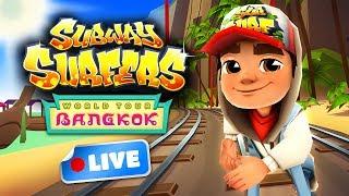 Subway Surfers World Tour 2017 - Bangkok Gameplay Livestream