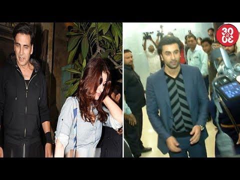 Akshay, Twinkle Meet R.Balki & Gauri For Dinner | Ranbir Mending Terms With The Press