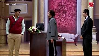 عمر متولى يطلب من على ربيع طلب محرج فى #مسرح_مصر