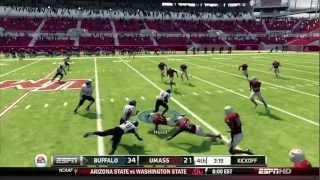NCAA Football 13 (Xbox 360) - Buffalo at UMass (FULL GAME) [HD]