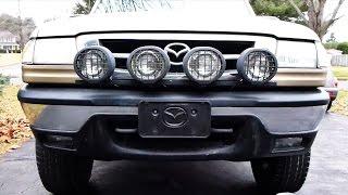 Off Road Light Bar Ford Ranger Mazda B3000