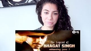 BOLLYWOOD THE LEGEND OF BHAGAT SINGH | DUTCH GIRL TRAILER REACTION | TRAVEL VLOG IV